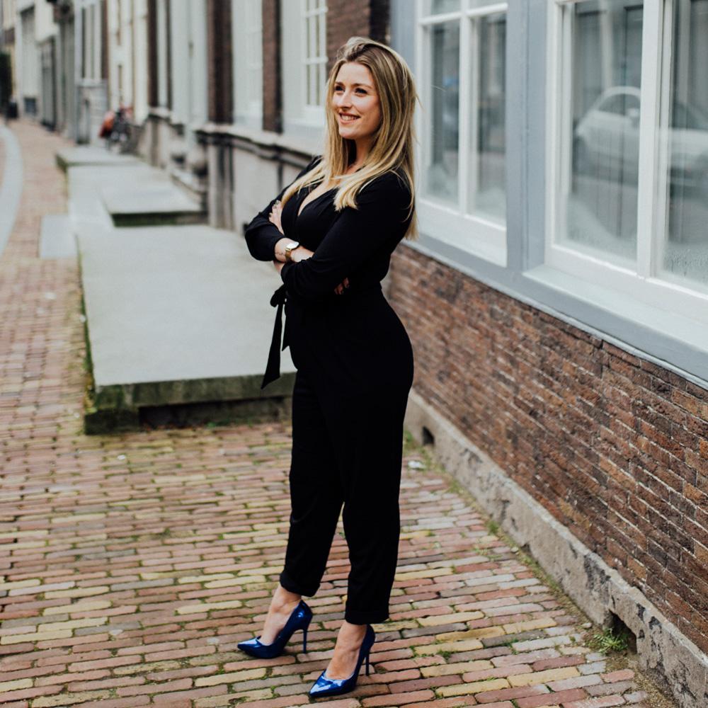 Valerie Willemse, storyteller in Dordecht